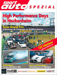 High Performance Days in Hockenheim